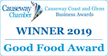 Causeway Coast and Glens 2019 Good Food Award