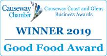 Causeway Coast and Glens 2019 Good Food Award