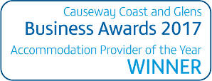 Causeway Coast and Glens 2017 Accommodation Provider of the Year