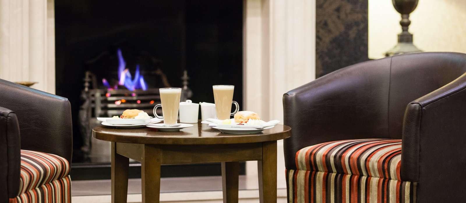 Coffee & Scones at the Lodge Hotel Coleraine