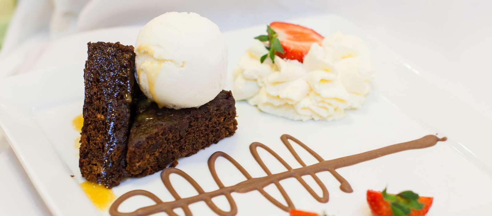 Desserts at Coleraine Restaurant