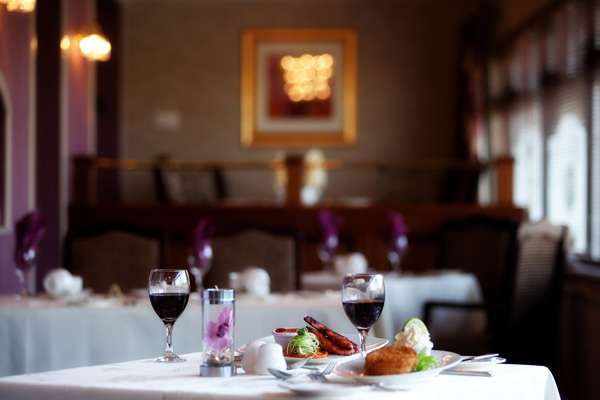Dining at the Lodge Hotel Coleraine